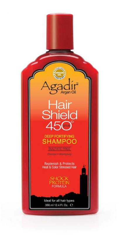 Agadir Hair Shield 450 Plus Deep Fortifying Shampoo 12.4 OZ